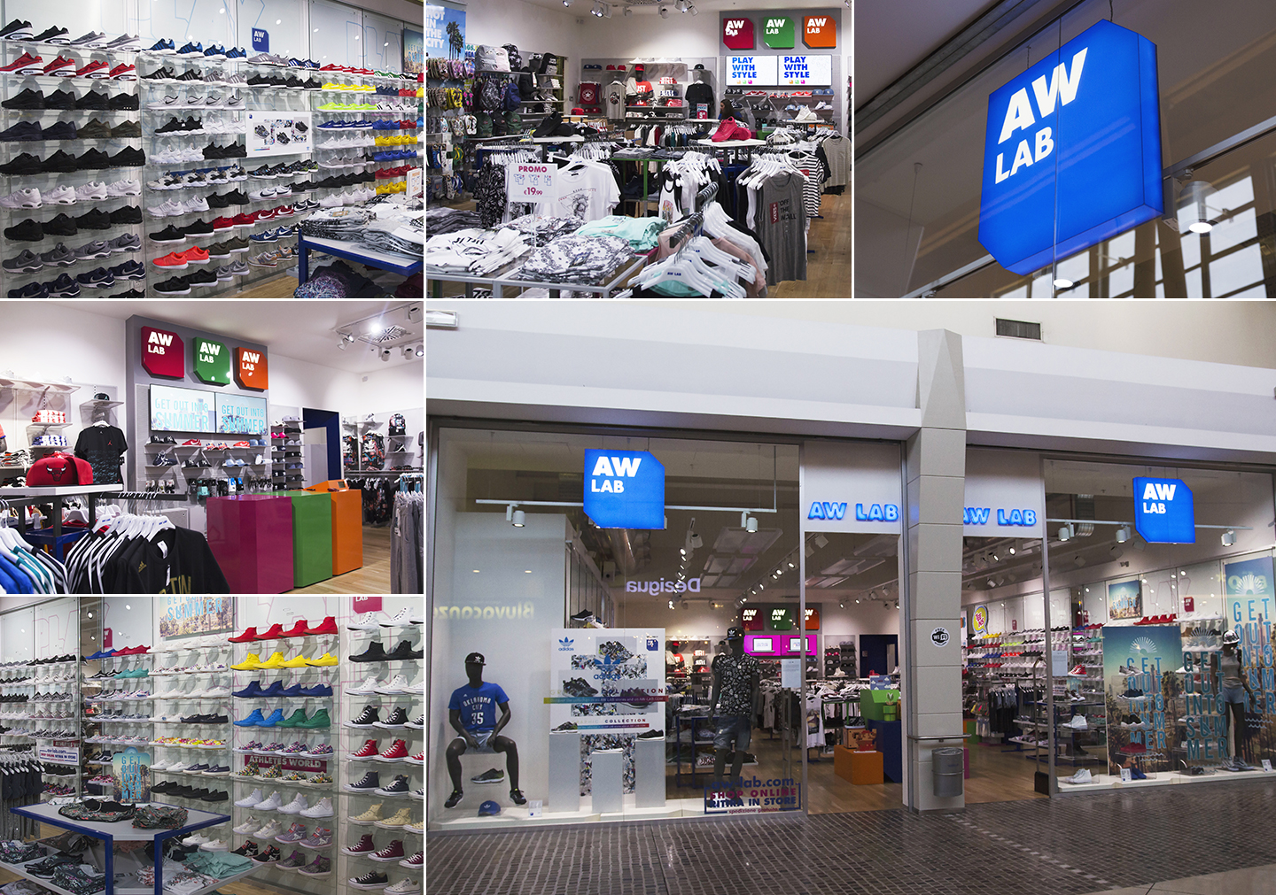 AW LAB | Centro Carrefour Limbiate